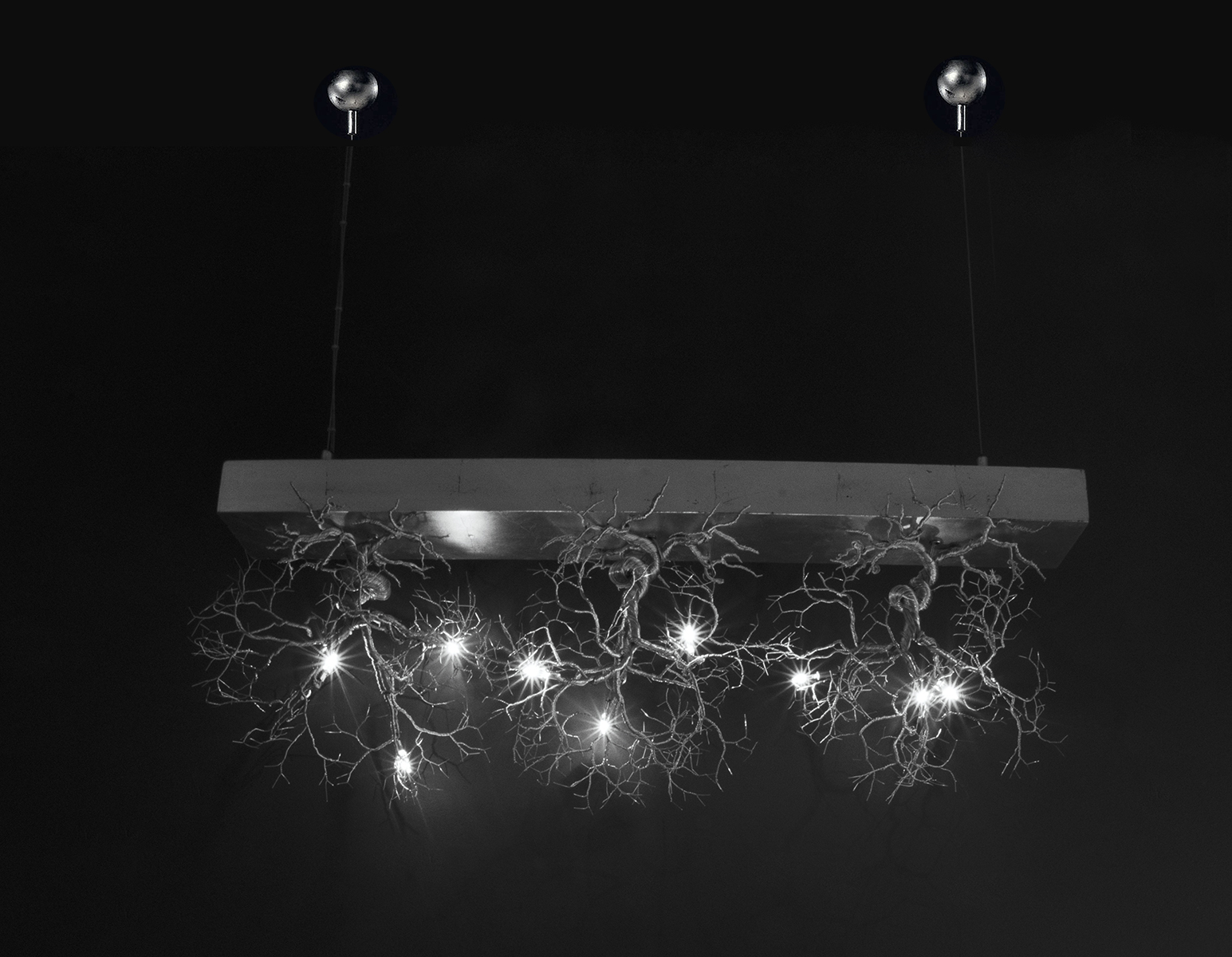 Roots Small Bar 3 - Ceiling Light fixture‎